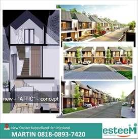 Rumah baru cluster Wisteria by Keppel land & Metland, Jakarta Timur