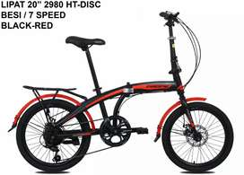 Kami menjual sepeda lipat pasifik ukuran 20