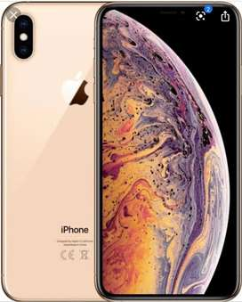 Iphone XS MAX GOLD 64 GB SINGLE SIM PTA APPROVED FACE TIME
