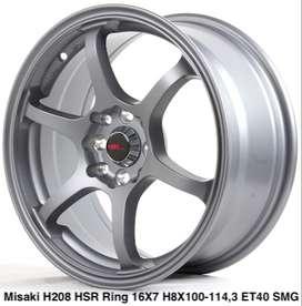 Velg original MISAKI H208 HSR R16X7 H8X100-114,3 ET40 SMG