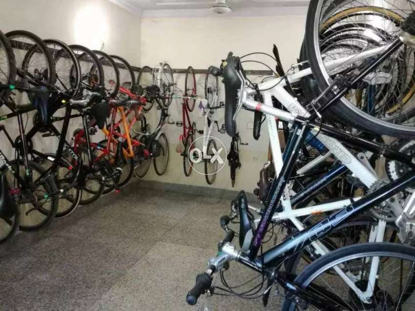 Imported used bicycles available 0