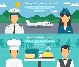 Airline Required Customer care executive and cabin crew   Job Opened @
