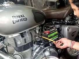 Required two wheeler technicians