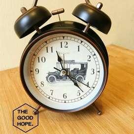 Jam alarm jam beker jam weker klasik classic unik keren