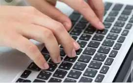 MS Word typing job for any skilled person.