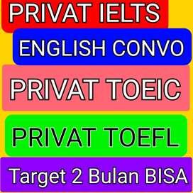 Les Privat Bahasa Inggris IELTS TOEFL TOEIC Conversation Jakarta Utara