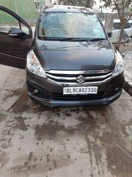 Ertiga vxi CNG car looking like a new well condition & urgent sale