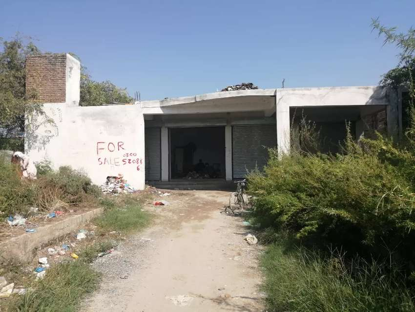 selling my 5 shops  near gt road haripur behind ayub law college 0