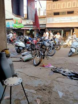 Shop for sell in model ground machenical market
