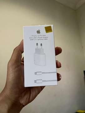 Charger Iphone 12 Promak + USB Lighthing Original (ada hologram)