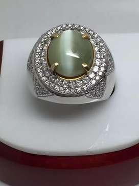 Cat Eye Bensin Tali luar biasa , ikatan mas diamonds