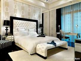Double bed +Dressing +spring matress