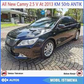 All New Camry 2.5 V AT 2013 Low km Orisinil Bisa Kredit