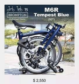 Brampton M6R Tempest Blue