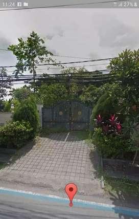 Dijual tanah 23 are 2 muka jalan Utama Pantai batu bolong Canggu