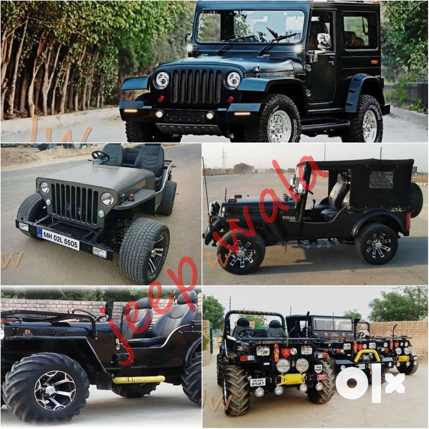 Open Modified Jypsy Jeep  & Thar Jeeps 0