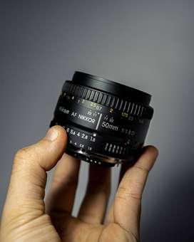 Nikon AF NIKKOR 50 mm f 1.8 D - Lensa Nikon 50mm F1.8 D