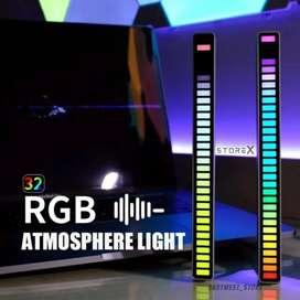 32 LED RGB Spectrum USB  Lampu RGB deteksi suara Voice-activated