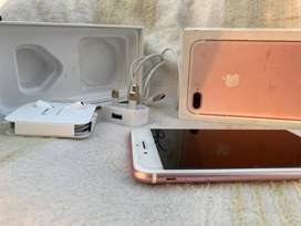 iPhone 7 plus colour rose gold 128 GB