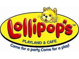 Lowongan Kerja Lollipop's Playland & Cafe