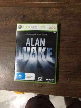 """BRAND NEW 'alan wake' game for (XBOX 360) with  """"XBOX LIVE MEMBERSHIP"""""""