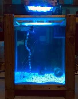 meja aquarium minimalis fullset