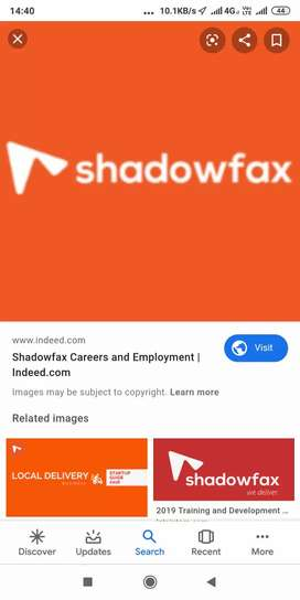 JOB OPENINGS FOR SHAWDOW FAX FOOD DELEVERY