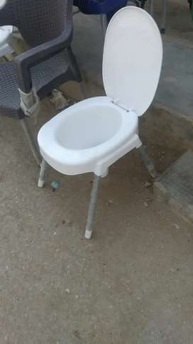 New commode chair