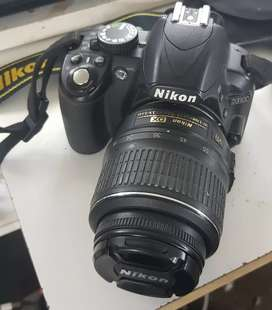 Nikon DSLR camera modal D3100 total set
