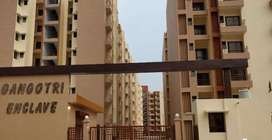 Semi furnished newly built apartment