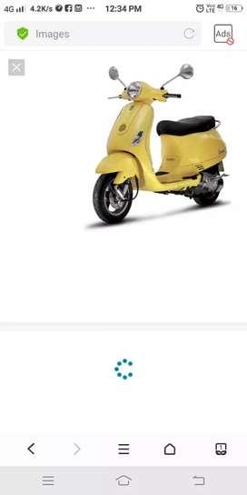 Vespa scooter mare joy che.