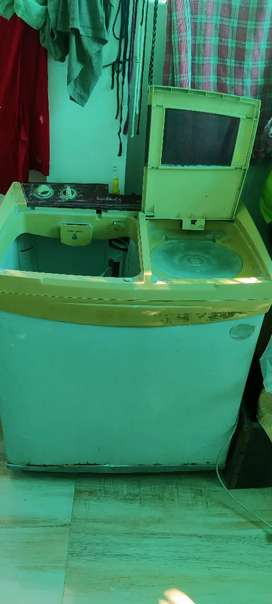 Whirlpool washing machine full condition without cover cap