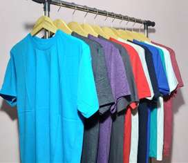 Kaos Polos Cotton Combed Premium | 20S, 30S, 2T.