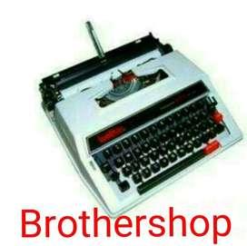 Mesin tik manual Brother M2000 9inc