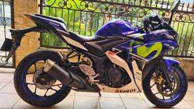 Yamaha R25 Movistar 2016/2017 Mulus 99% Full Original