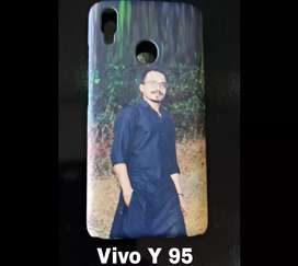 Vivo y 95 mobile back cover with own picture