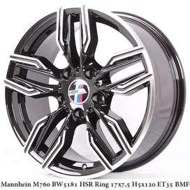 Velg Mannheim  Ring 17 Mobil Tipe BMW Kredit 0%