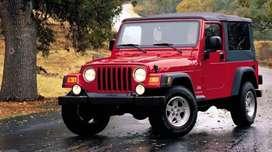 Wrangler modified jeep