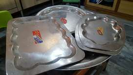 Stainless Steel Tray Dishes