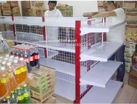Rak supermarket toko indomaret minimarket perlengkapan jual gondola