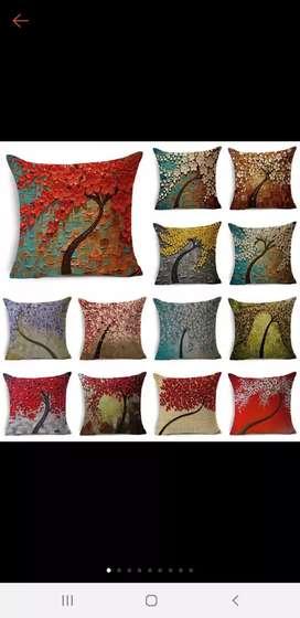 Ready stock cushion cover import/sarung bantal sofa kekinian