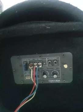 Car Bass tube