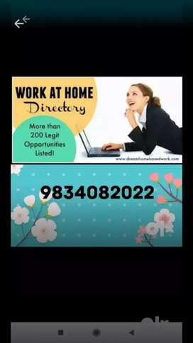 Students required for online part time and home based work