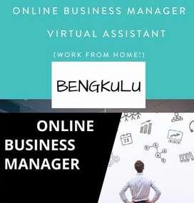 DICARI ONLINE BUSINESS MANAGER AREA BENGKULU