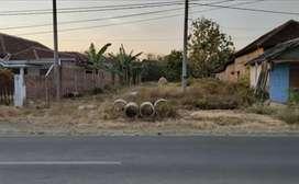 Dijual Tanah SHM Pinggir Jalan Raya Plalangan-Jenangan Ponorogo
