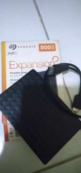 Hardisk eksternal seagate 500 gb