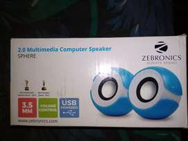 2.0 multimedia computer speaker