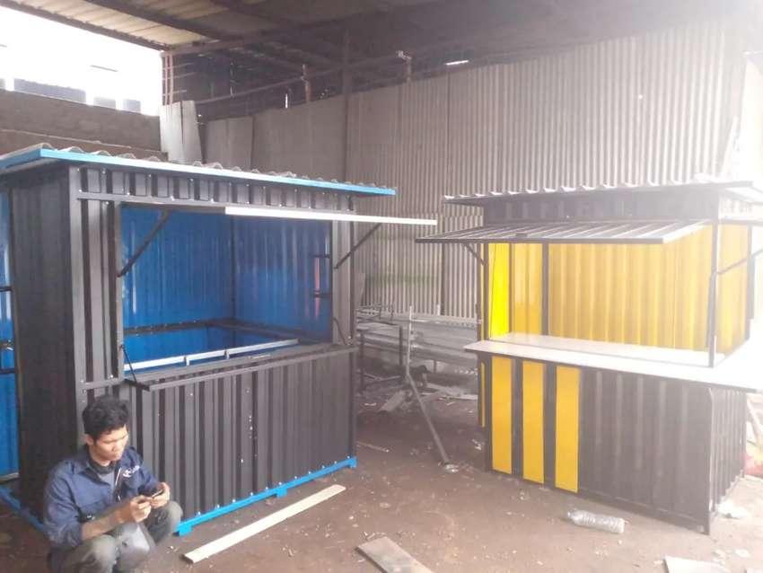 Booth Container Booth kontener Custom Gerobak Custom jualan