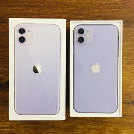 iPhone 11 64GB purple colour ( 6 months warranty)