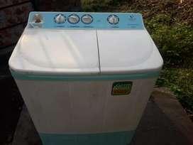 Washing machine running condition 7 kg